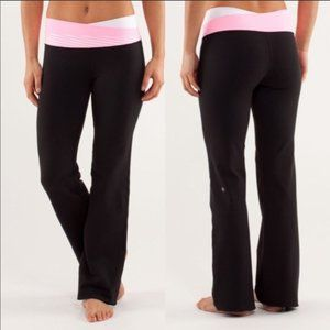 Lululemon Astro Pant Black / Gray / Pink Shell